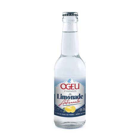 Ogeu Eaux Minérales - Ogeu - Limonade des Neiges à l'eau minérale naturelle des Pyrénées