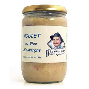 Le Père Jean - Poulet au bleu d'Auvergne