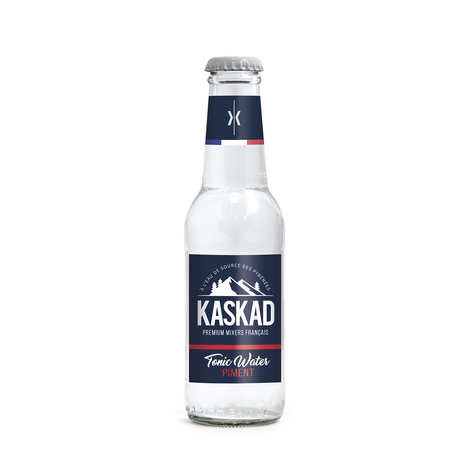 Kaskad - French Premium Mixers - Kaskad Piment - chili tonic water