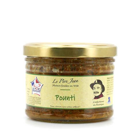 Le Père Jean - Pounti stuffed with prunes - Auvergne Limousin