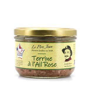 Le Père Jean - Terrine à l'ail rose