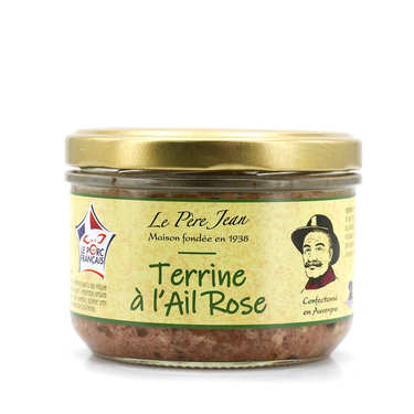Terrine à l'ail rose