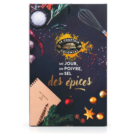 Le Comptoir Colonial - Advent calendar 2020 of spices in sachets