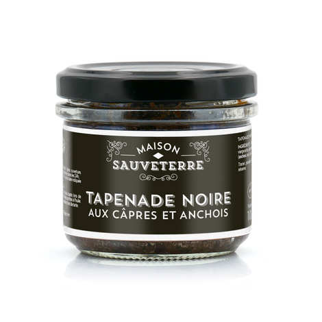 Maison Sauveterre - Black Tapenade with Capers and Anchovies