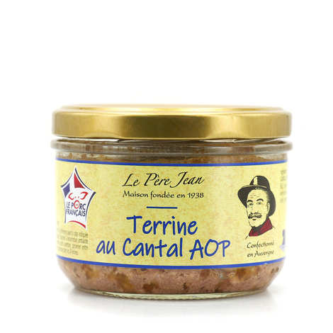 Le Père Jean - Terrine with Cantal cheese
