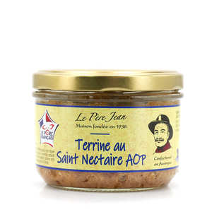 Le Père Jean - Terrine with Saint Nectaire cheese