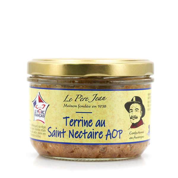 Terrine with Saint Nectaire cheese