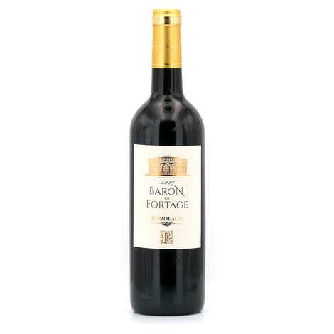 Baron de Fortage - Baron de Fortage - red wine of Bordeaux