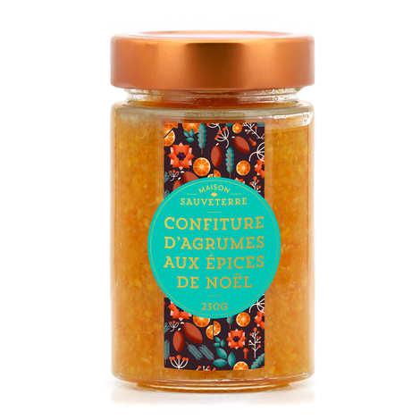 Maison Sauveterre - Citrus jam with Christmas spices