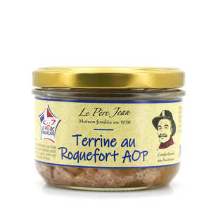 Le Père Jean - Country Pâté with Roquefort - 180g