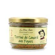 Le Père Jean - Terrine de canard aromatisée aux figues