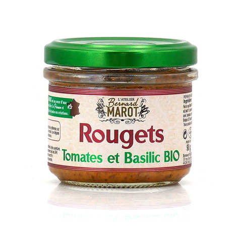 Bernard Marot - Organic red mullet toast with sundried tomatoes