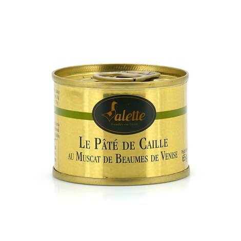 Valette - Pâté de caille au Muscat de Beaumes de Venise