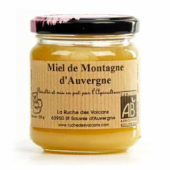 La Ruche des Volcans - Organic Mountain Honey from the Auvergne