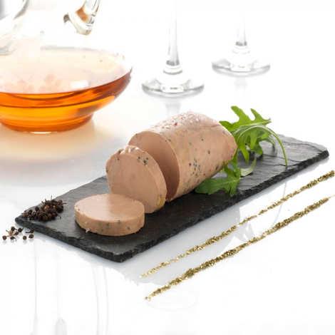 Valette - L'Absolu - Foie gras d'oie mi-cuit au Muscat de Beaumes de Venise et Poivre Sauvage de Voatsiperifery