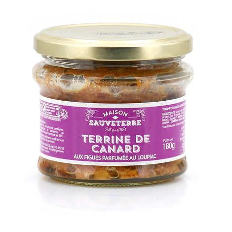 Maison Sauveterre - Terrine de canard aux figues parfumée au Loupiac