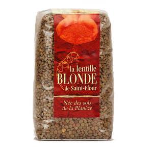 Lentilles blondes de saint flour la lentille blonde de saint flour - Comment cuisiner des lentilles blondes ...