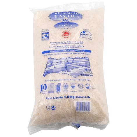Rui Simeao Tavira - Extra pure fine Atlantic coarse salt