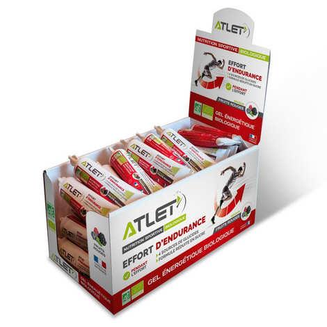 Atlet - Gel énergétique bio aux fruits rouges