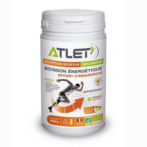 Atlet - Boisson énergétique bio saveur agrumes