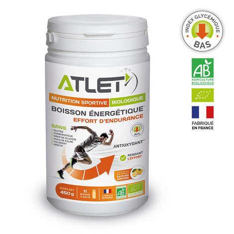 Atlet - Citrus-flavoured organic energy drink