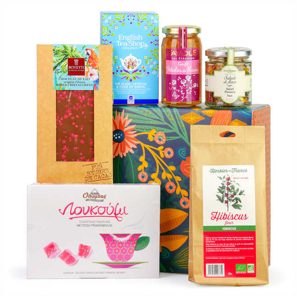 Flowers and flavours gift box