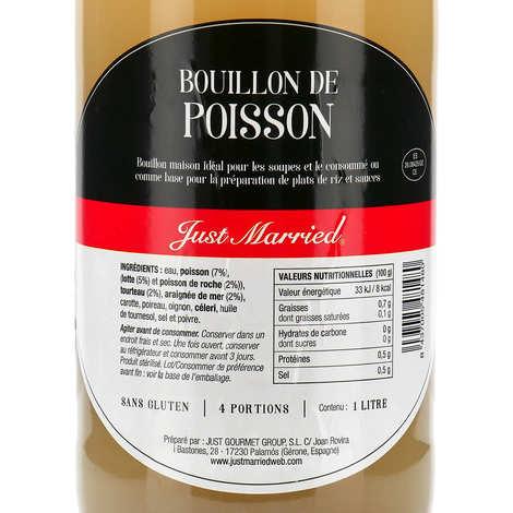 Just Married - Bouillon naturel de Poisson