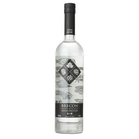 Penderyn - Le gin Penderyn - Brecon Botanicals 43%
