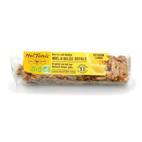 Meltonic - Organic cereal bar - Lemon & Chia seeds gluten free