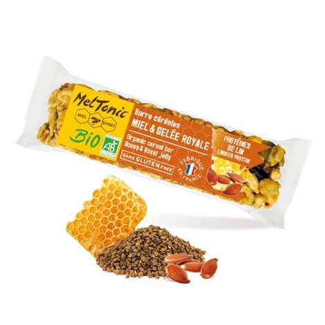 Meltonic - Barre céréales Bio - Protéines de lin & Kasha sans gluten