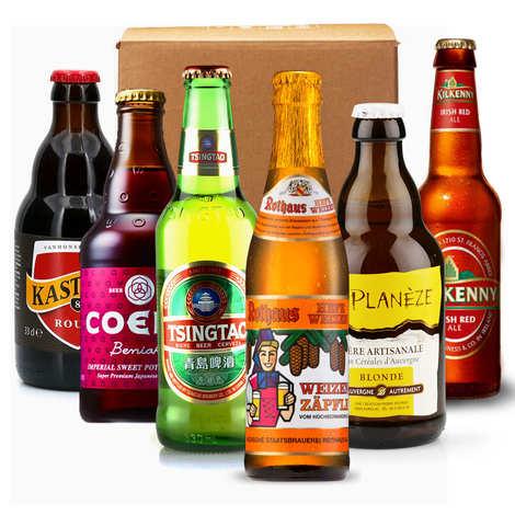 - Box découverte de 6 bières (septembre)
