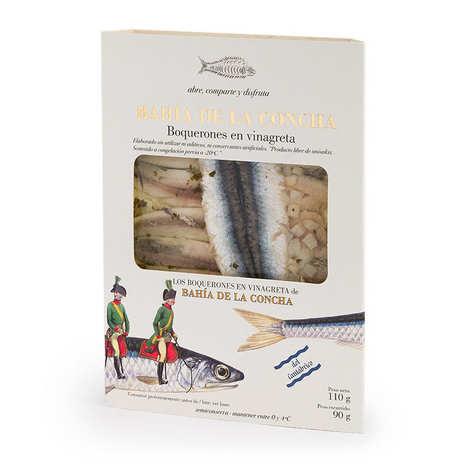 Corpa Chef - Boquerones au vinaigre - Filets d'anchois marinés