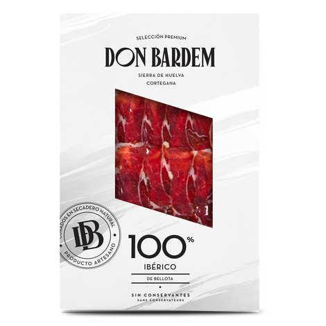 Don Bardem - Jambon Bellota tranché 100% Ibérique
