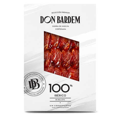 Don Bardem - Sliced Bellota Lomo 75% Iberian