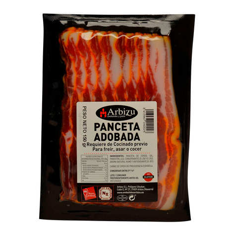 Arbizu - Spanish Panceta - Marinated and sliced pork loin