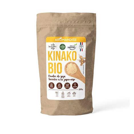 Aromandise - Kinako bio - poudre de soja torréfié à la méthode japonaise