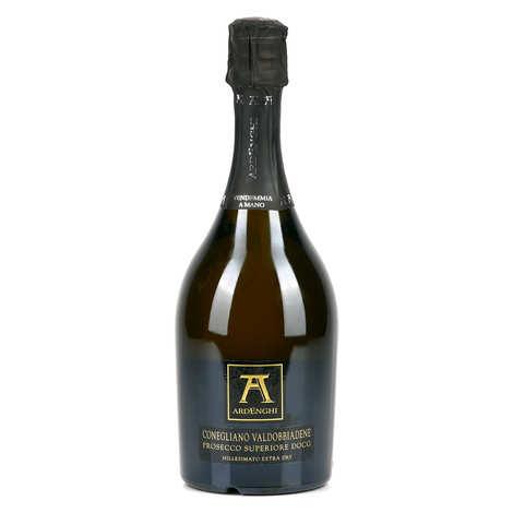 Ardenghi - Prosecco Valdobbia millésime Extra dry - Vin pétillant italien - 11,5%