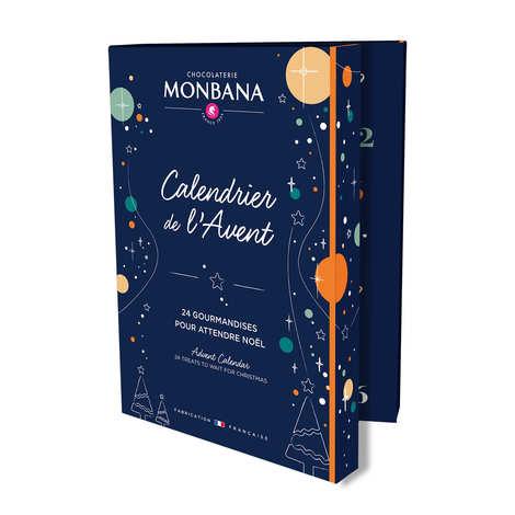 Monbana Chocolatier - Calendrier de l'avent gourmand Monbana