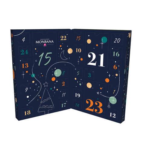 Monbana Chocolatier - Chocolate and Sweets Advent Calendar From Monbana