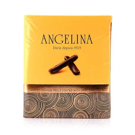 Angelina Paris - Candied orange peels with dark chocolate - Angelina Paris