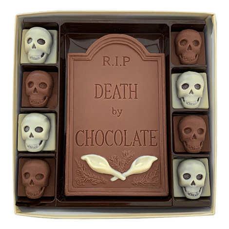 Choc on Choc - RIP Death by Chocolate & Skulls Halloween Chocolate Box