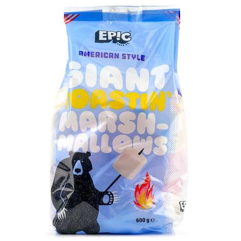 Epic Snax - Marshmallows géants à griller à l'américaine