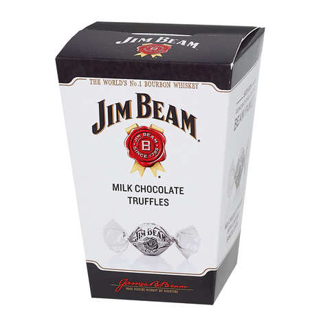 Jim Beam - Chocolats au lait fourrés au bourbon Jim Beam