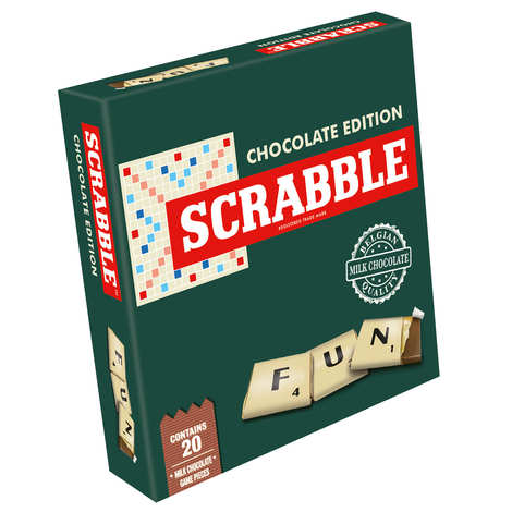 Games For Motion - Scrabble with chocolate pieces