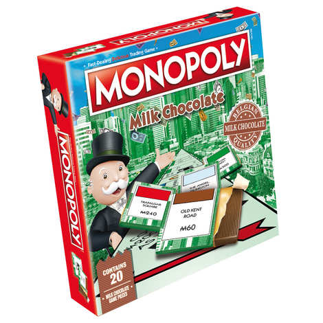 Games For Motion - Monopoly with chocolate pieces