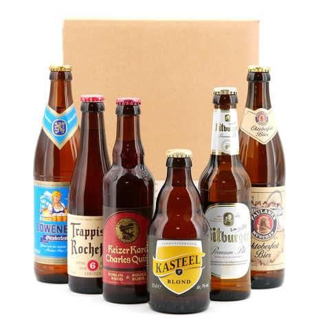 - Box découverte de 6 bières (octobre)