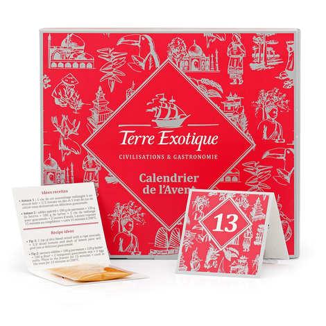 Terre Exotique - Calendrier de l'avent des épices - Terre Exotique