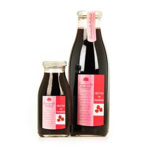 Emmanuelle Baillard - Raspberry nectar bottle