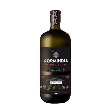 Domaine du Coquerel - Gin Normindia Barrel Aged 44.1% - Gin Français