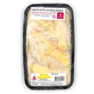 Tartiflette with reblochon - fresh artisanal delicatessen dish